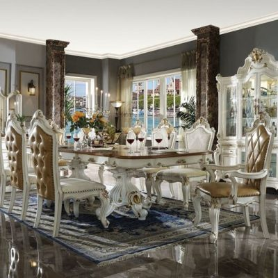 Formal White Dining Room Sets