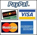 Most forms of payment accepted